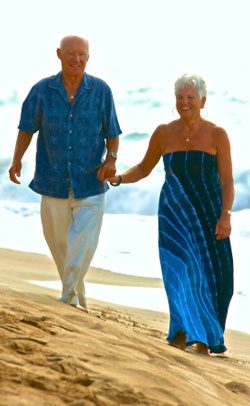 Senior Life Can Be a Beach for Older Travelers