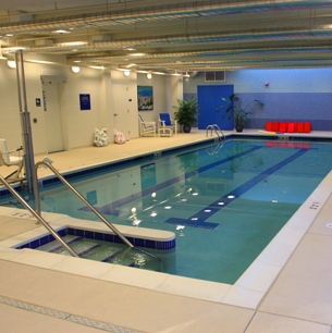 Head down to the pool for an easy senior fitness program that fits into any schedule.