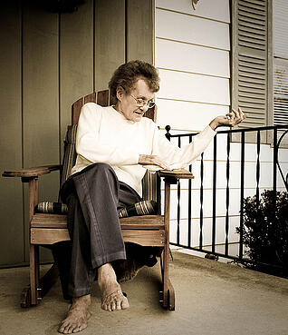 Aging at home is possible with the right senior services.