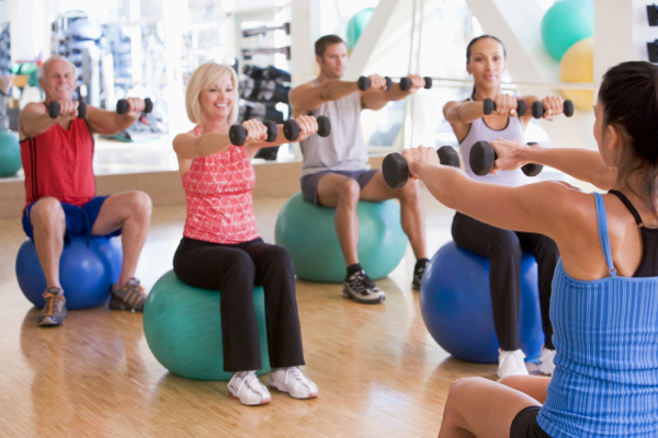 Exercise is an important part of living well.