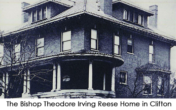 Bishop Theodore Irving Reese Home in Clifton