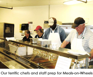 Episcopal Retirement Homes' Meals-on-Wheels program