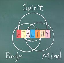 Venn Diagram of Total Health for Seniors