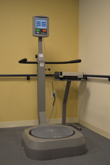 The Biodex Balance System plays an important part of senior wellness at Deupree