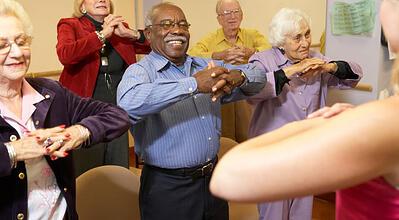 affordable senior living activity