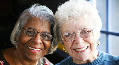 Companionship can be the key to enjoying life after retirement.
