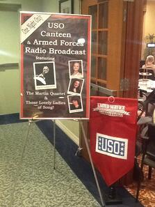Honoring veterans in the MPL USO Canteen