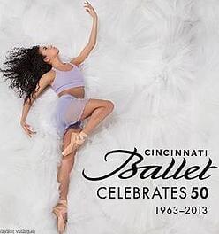 The Cincinnati Ballet celebrates 50 years.