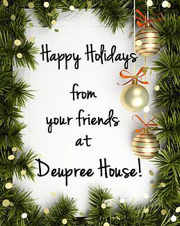Happy Holidays from Deupree