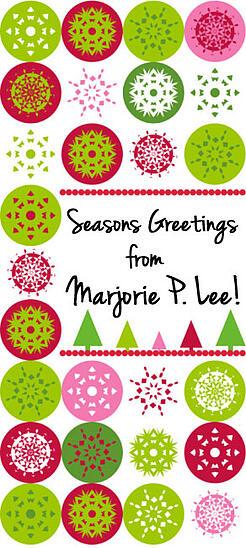 Seasons Greetings from Marjorie