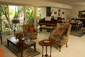 Aging at home is possible with enriched living at Deupree.