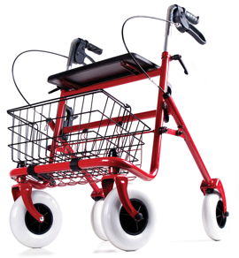 Using a walker safely can help you stay mobile in your senior living.
