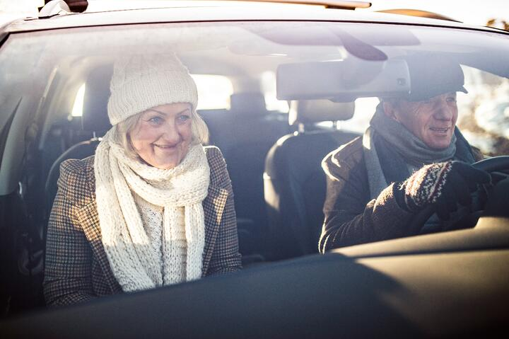 Cold Weather Driving Tips for Seniors