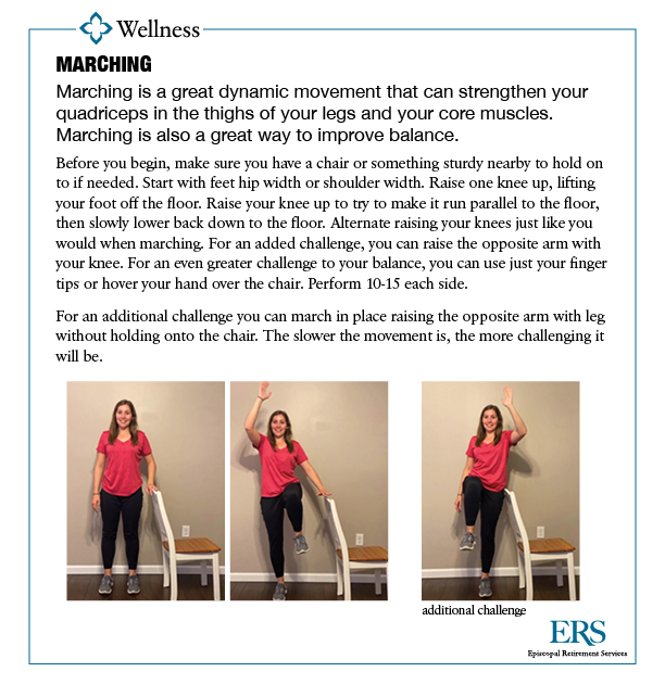 Home Exercise Series1_marching