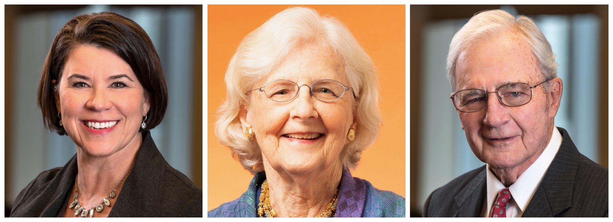 Meet the ERS Board Jenny Payne, Elizabeth Lilly & Arnie Austin