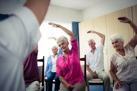 elderly-group-exercise