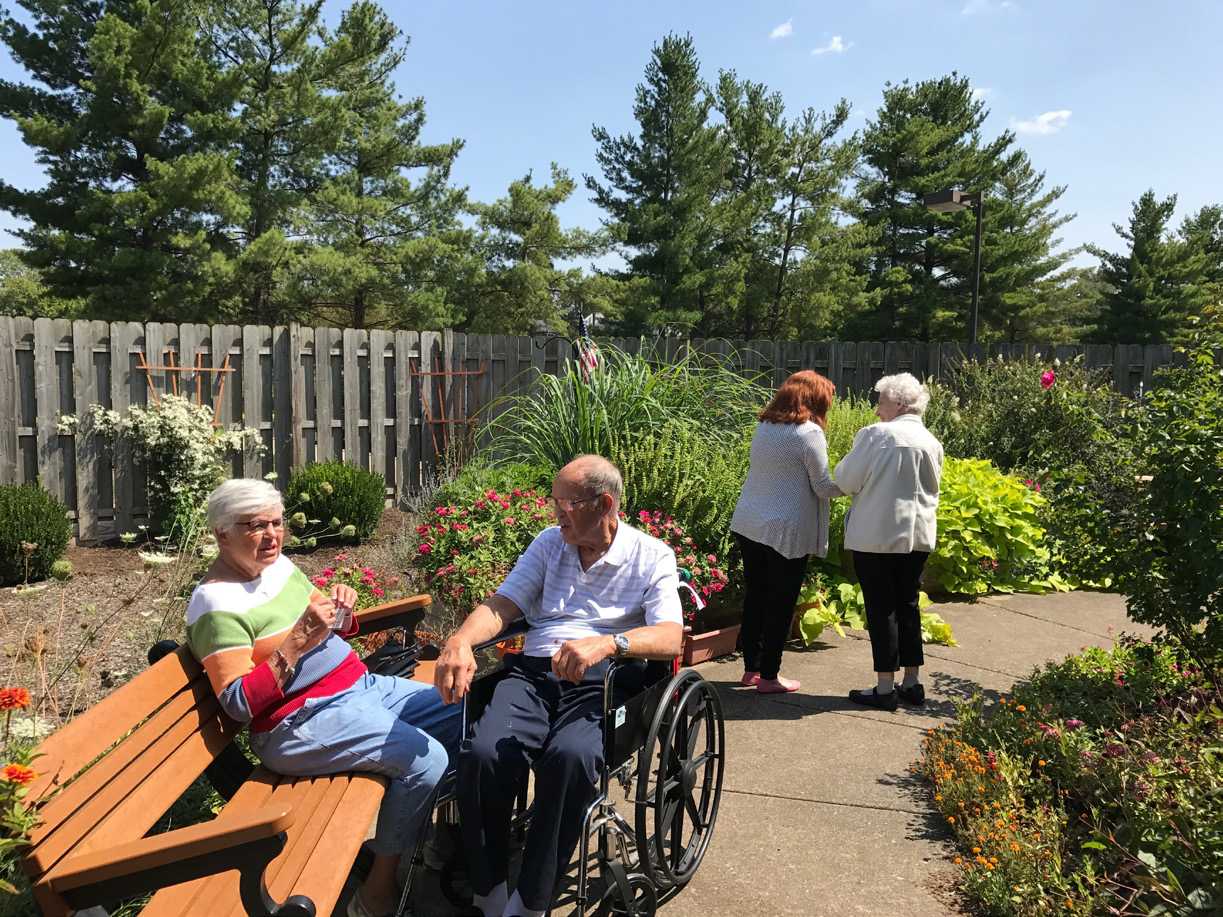 First Christian Church Generously Donates Grant Funds to ECH's Memory Care Neighborhoods