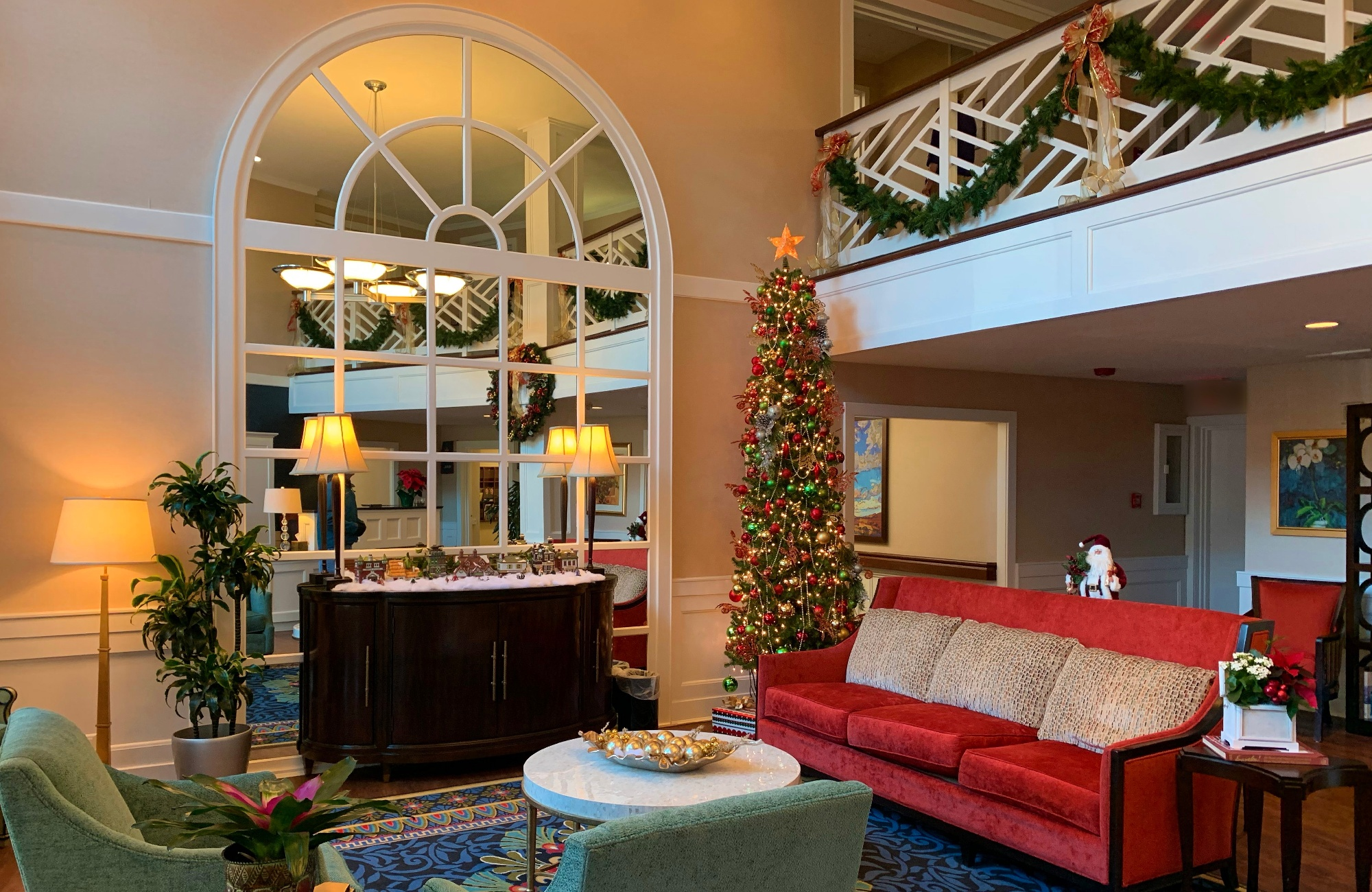 Reflecting on the Holidays at Deupree House