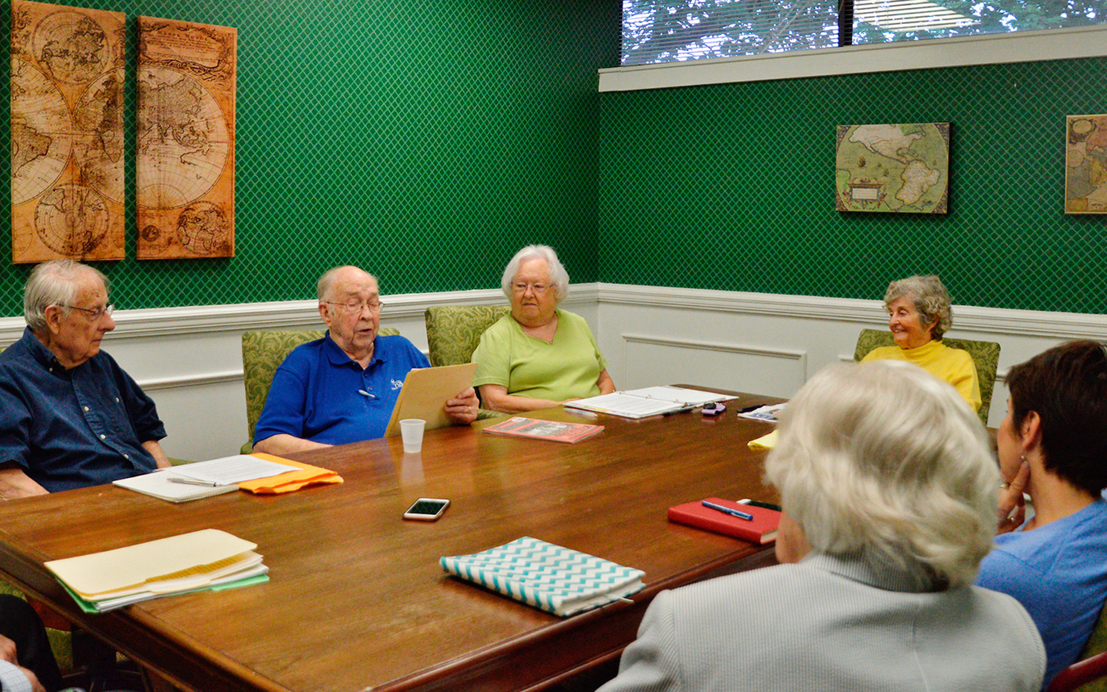 Feet to The Fire Writing Class Sparks Creativity in ECH Residents