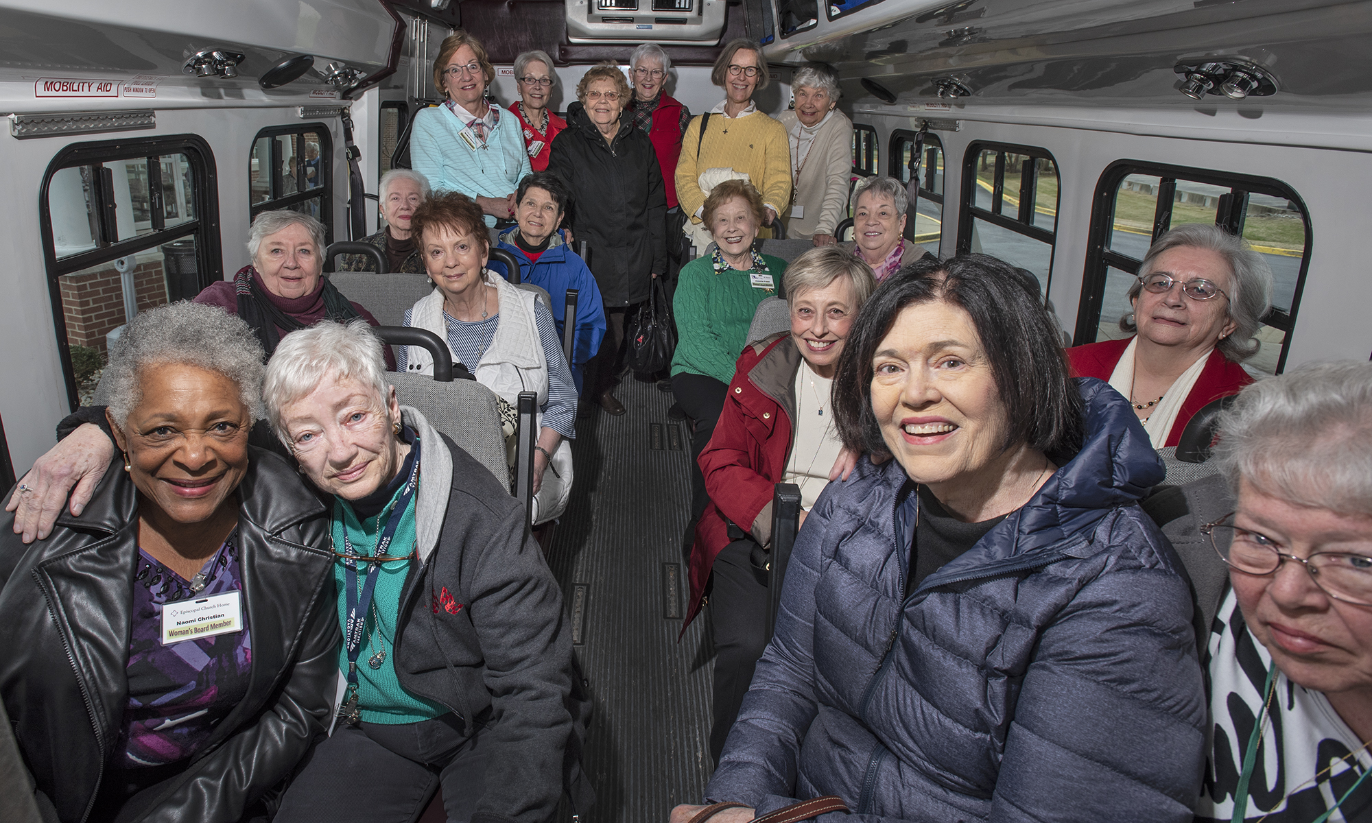 Meet the Volunteer Group Helping ECH Residents Live Well Into the Future