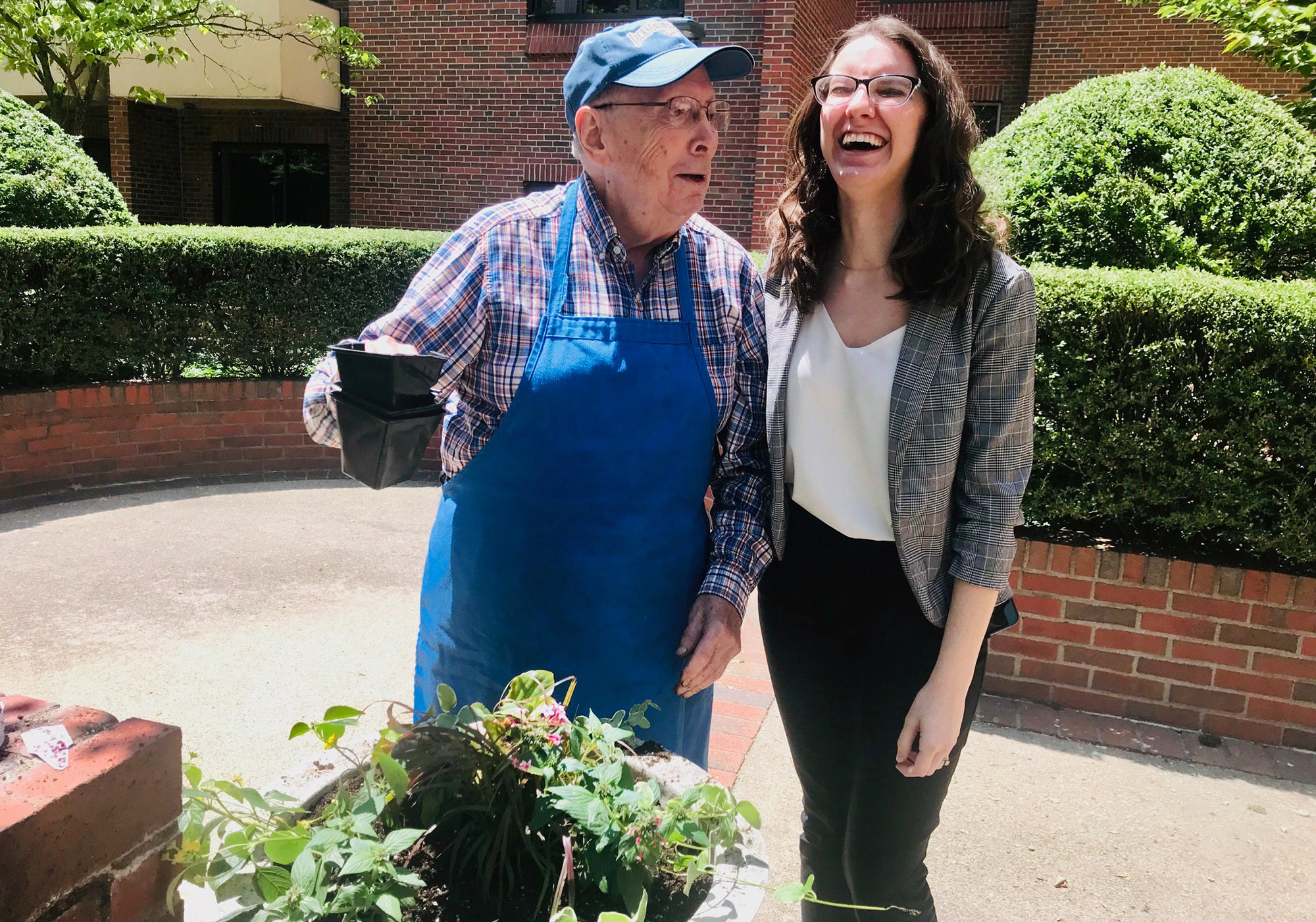 Connecting with Nature: The Benefits of Horticultural Therapy at Marjorie P. Lee