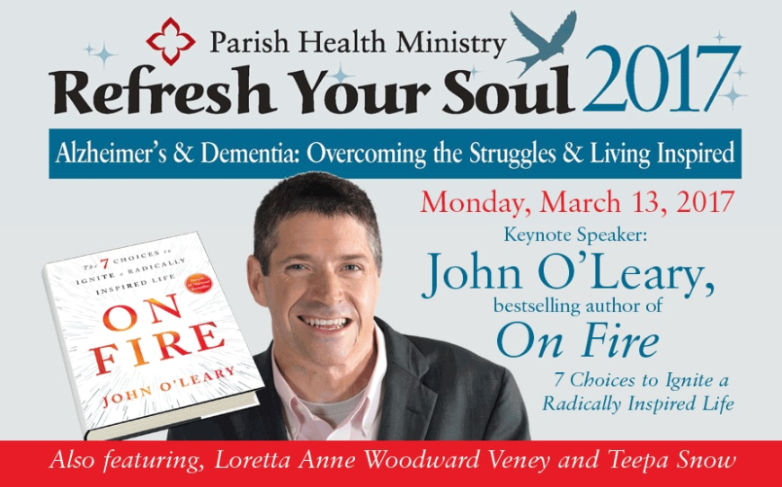 "Conference for Health Pros & Caregivers Aims to ""Refresh Your Soul"""