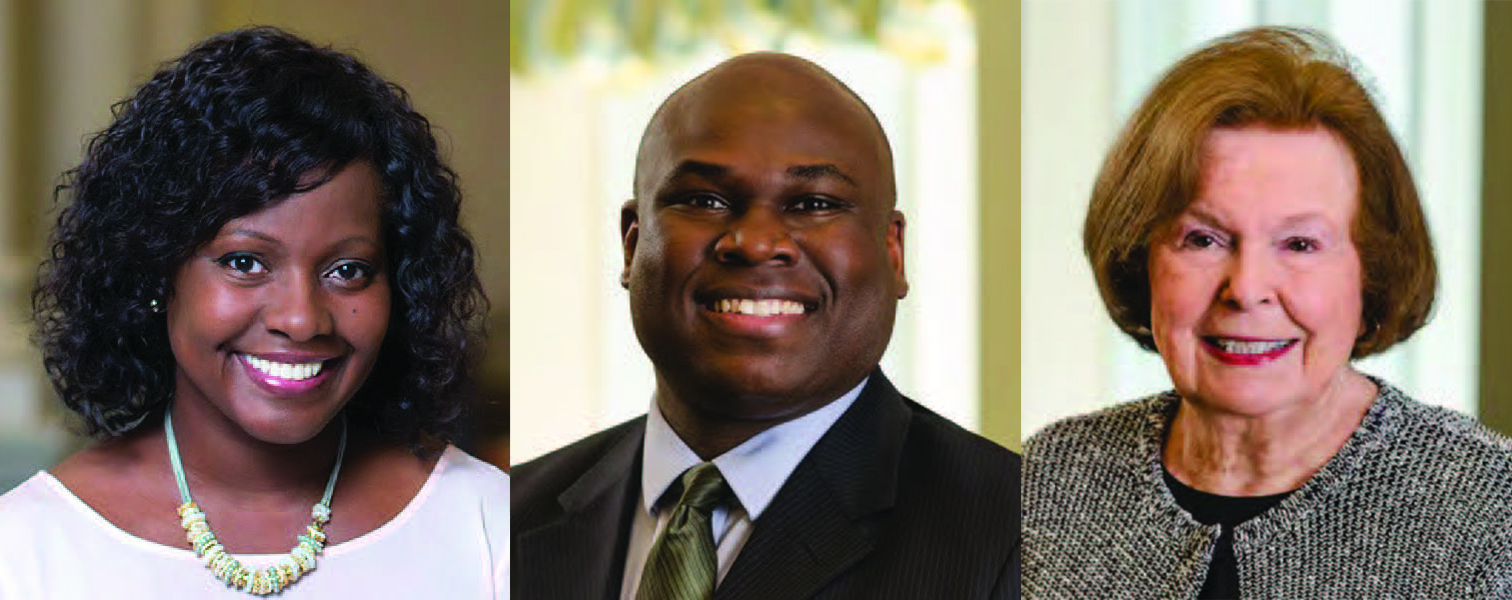 Meet the ERS Board: Dora Anim, Gerron McKnight & Barbara Talbot