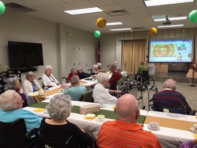 The ECH Tea Party: Connecting Seniors & Young People