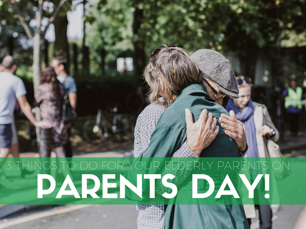 3 Things to Do on Parent's Day - Elder Care in Cincinnati