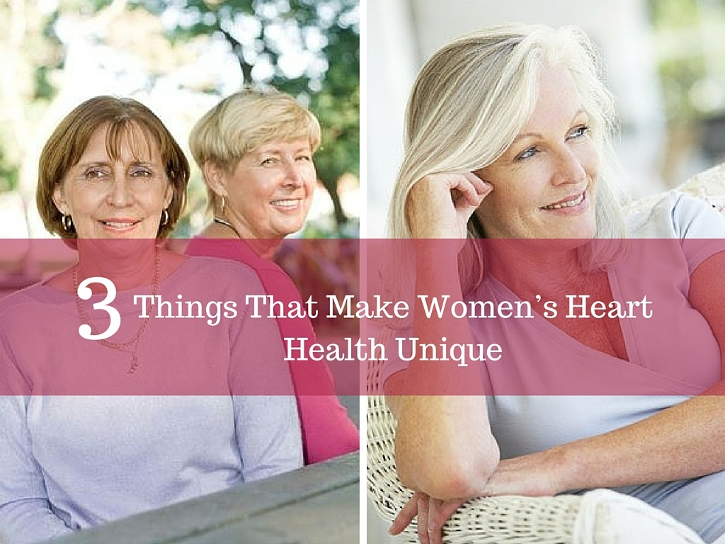 3 Things That Make Women's Heart Health Unique