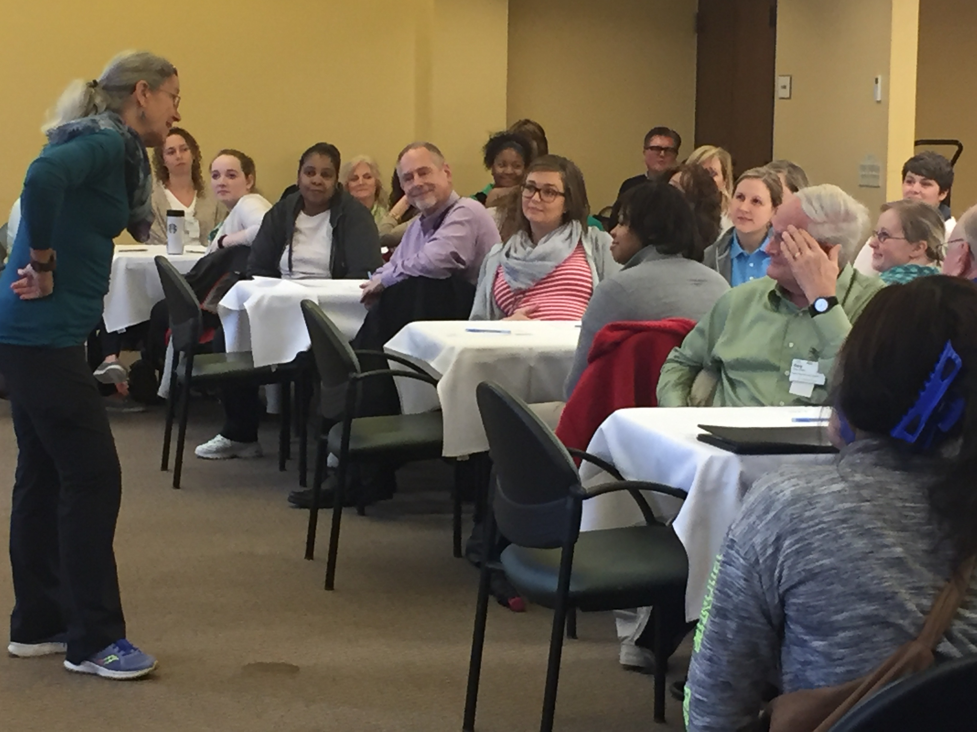 ERS Staff Learn About a Positive Approach to Care®