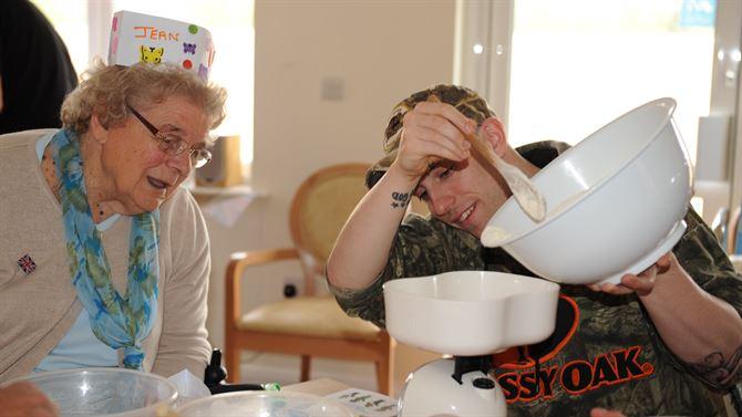 ERS Residents Speak in Support of Elderly Services Program