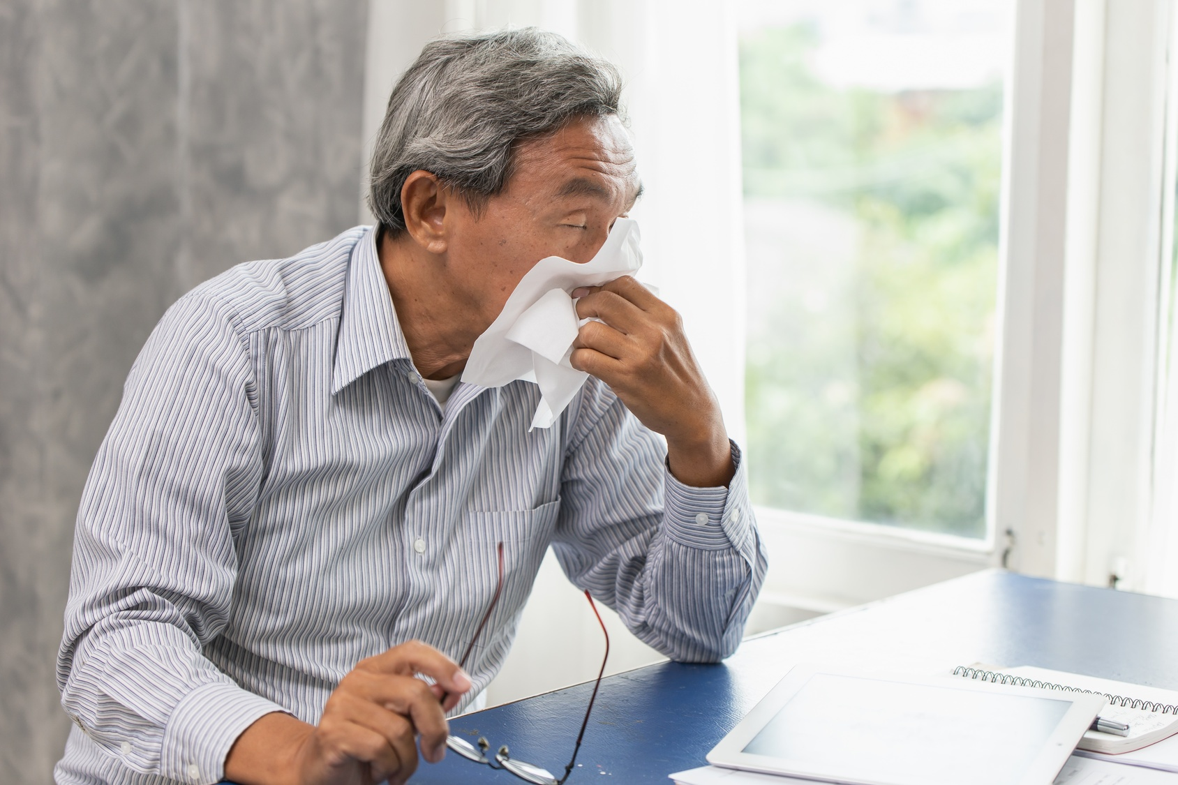 Six Flu Prevention Tips for Your Elderly Loved One